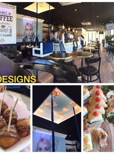bakery design, industrial design, coffee shop design,
