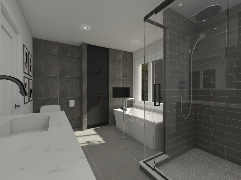 bathroom, glam bathroom, marble, modern, luxury style