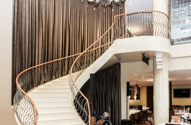 restaurant design, high end commercial design, curtain design. (1)