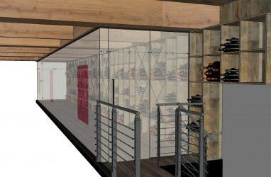 restaurant design, high end commercial design, wine cellar design. (2)